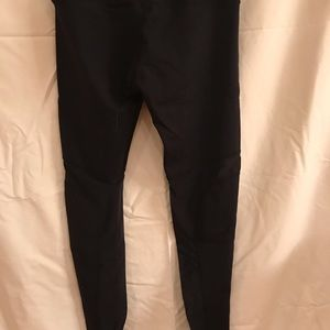 Black mesh lululemon leggings